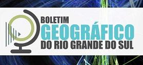 Imagem chamada Boletim Geográfico RS