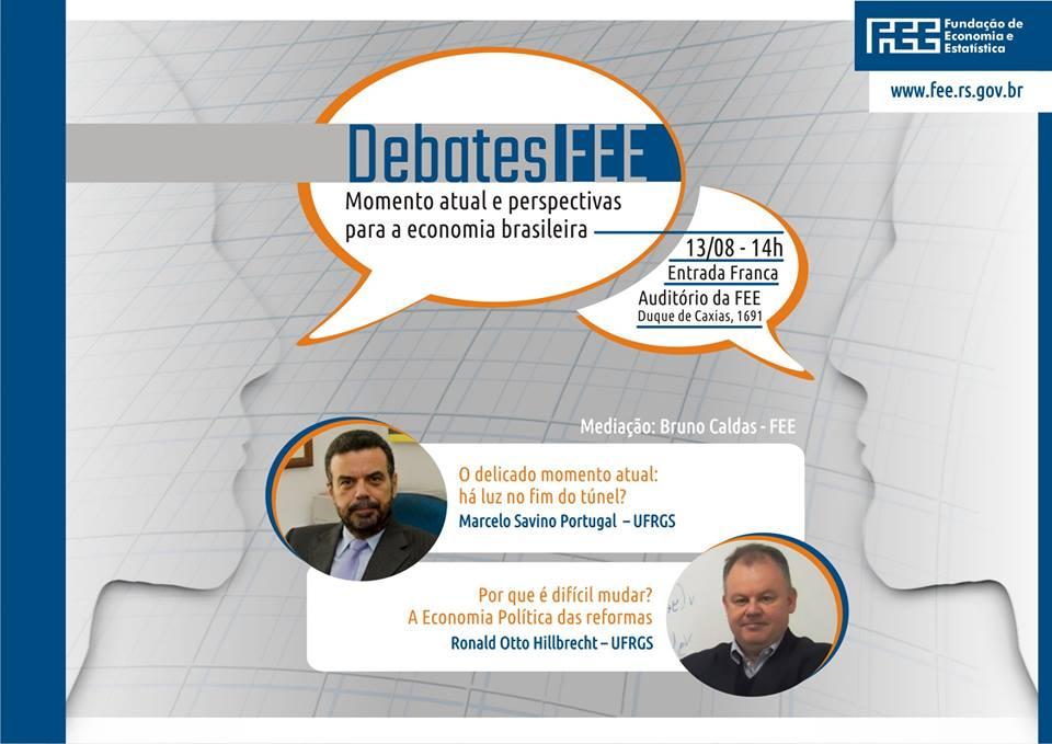 Debates FEE - Dia do Economista