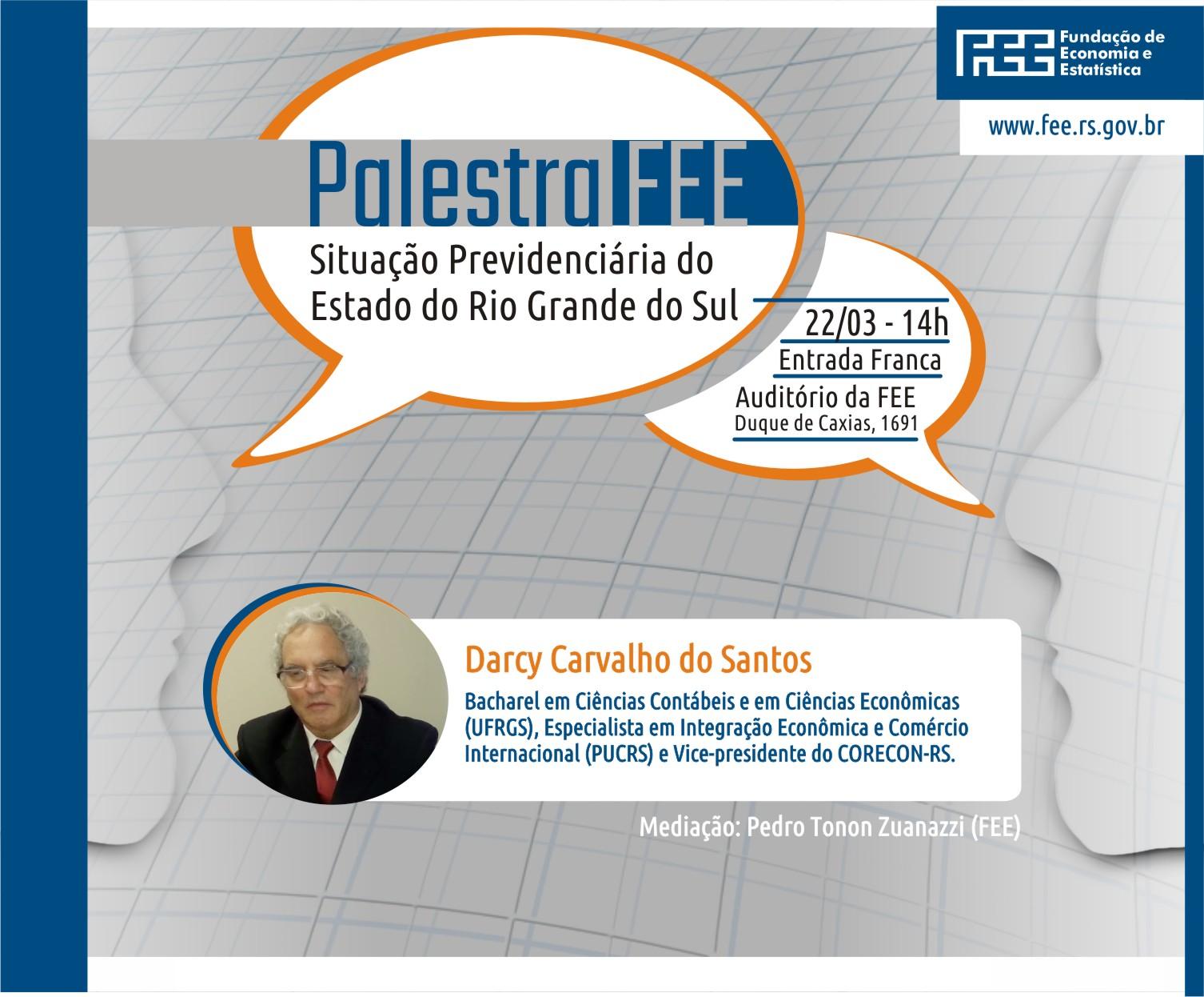 Palestra: Situação Previdenciária do Estado do Rio Grande do Sul