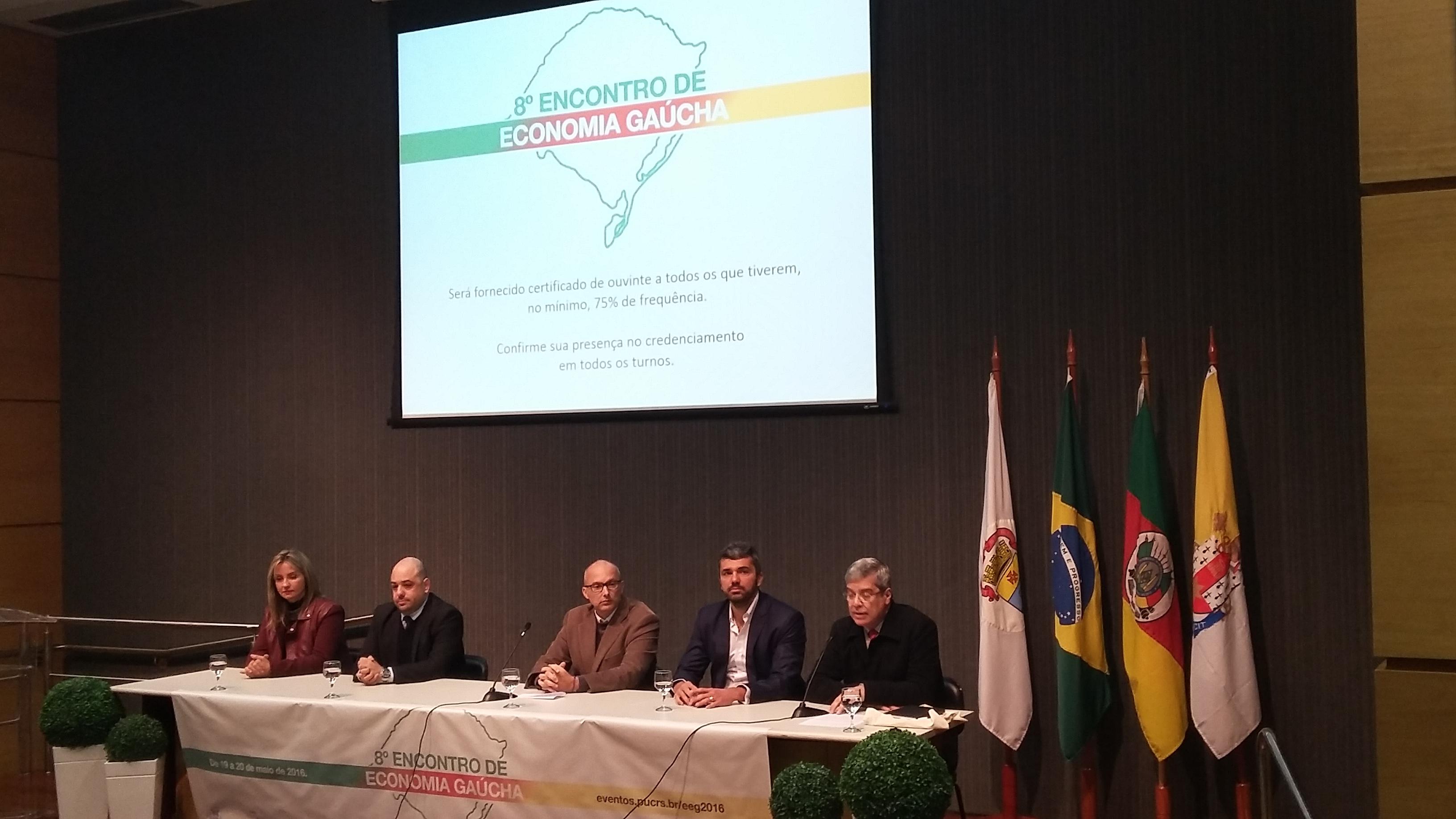 Abertura do 8º Encontro de Economia Gaúcha