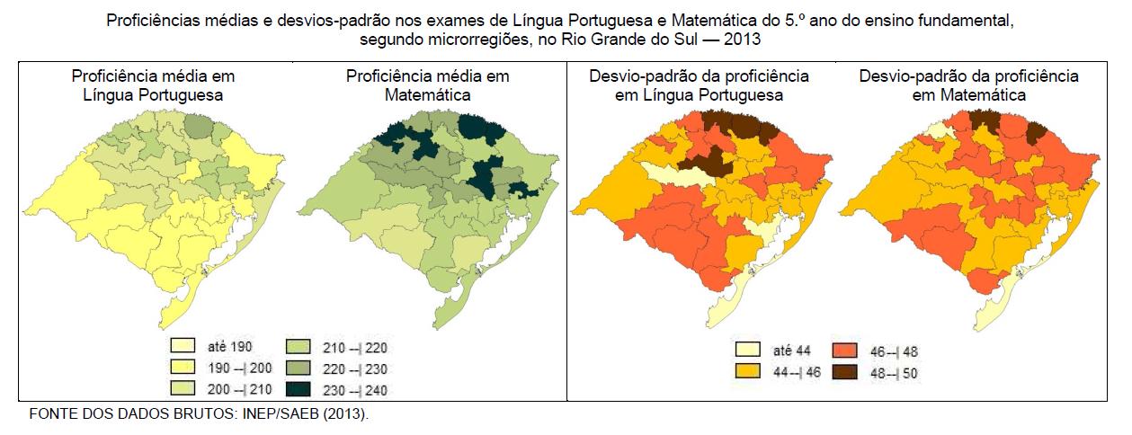 mapas proficiências